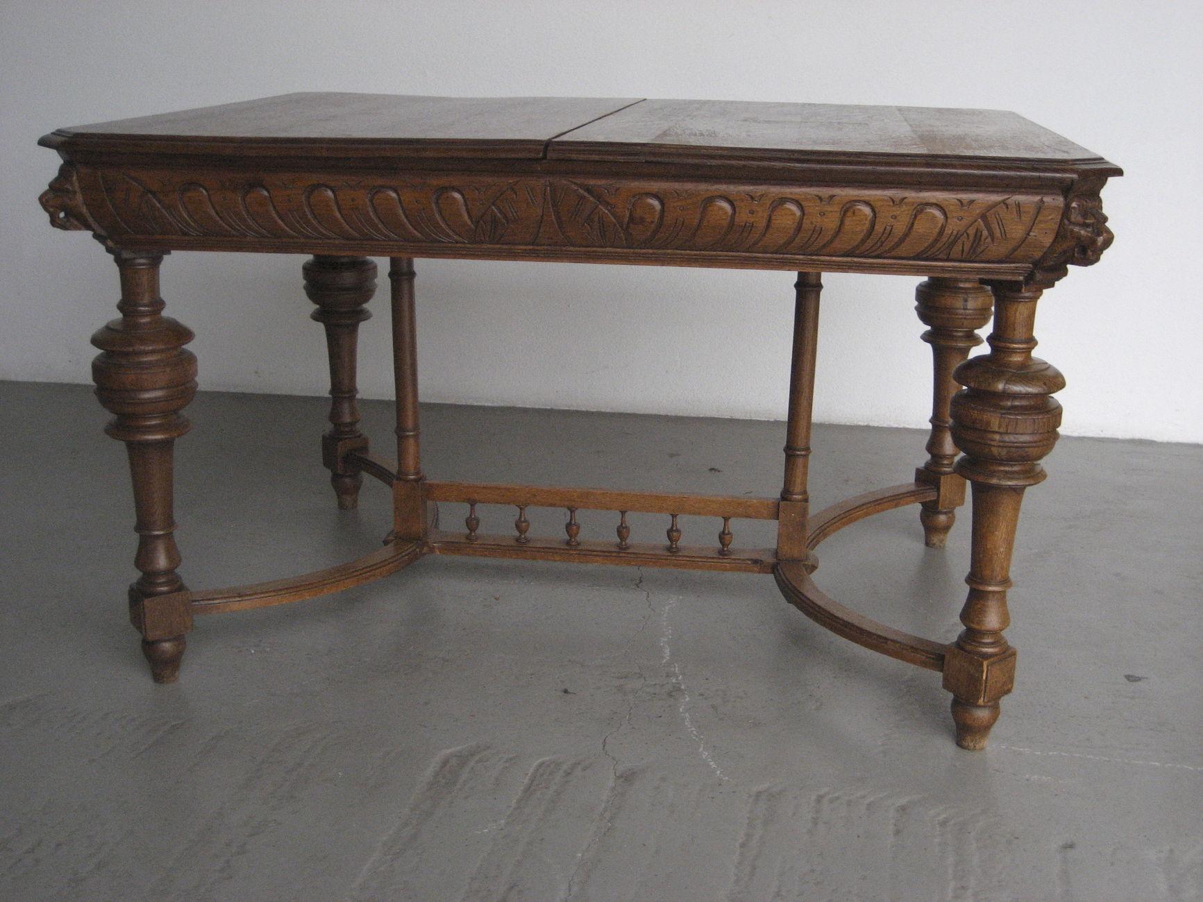 Antiker Tisch Gründerzeit Um 1880 Fahrzeuge